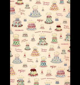 Gift Wrap Happy Birthday Wrap