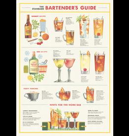 Gift Wrap Bartender Chart Wrap