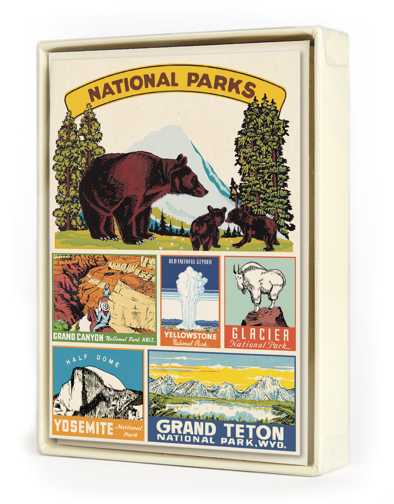 Notecards Boxed National Parks Notecards