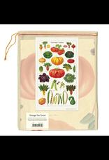 Tea Towels Vegetable Garden Tea Towel