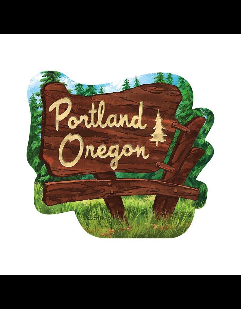 Stickers Portland OR State Park Sticker
