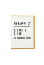 Greeting Cards - Love Favorites: Donuts & You