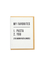 Greeting Cards - Love Favorites: Pasta & You Greeting Card