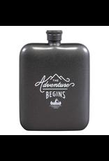 Flasks Adventure Begins Hip Flask