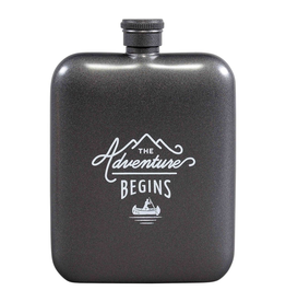 Flasks Adventure Begins Hip Flask