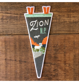 Patches Zion Pennant Patch