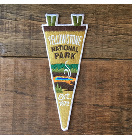 Patches Yellowstone Pennant Patch