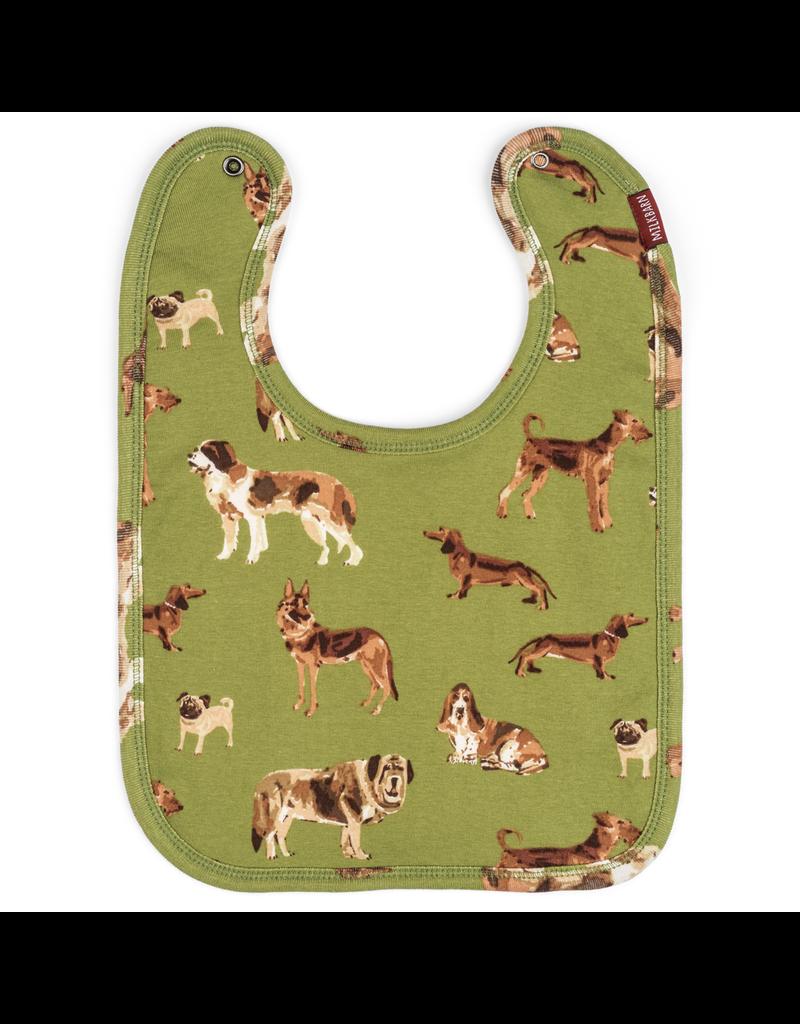 Bodysuits Green Dog Bib