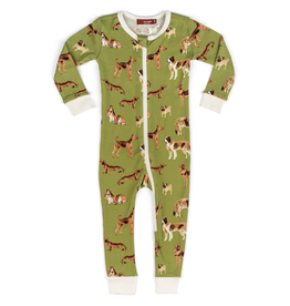 Pajamas Green Dog Pajamas