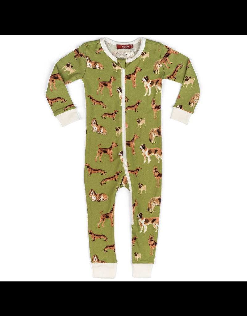Pajamas Green Dog Pajamas