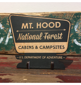 Accent Mount Hood Mini Park Sign