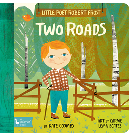 Books - Kids Little Poet Robert Frost Two Roads