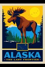 Posters Alaska State Pride 11x14 Print