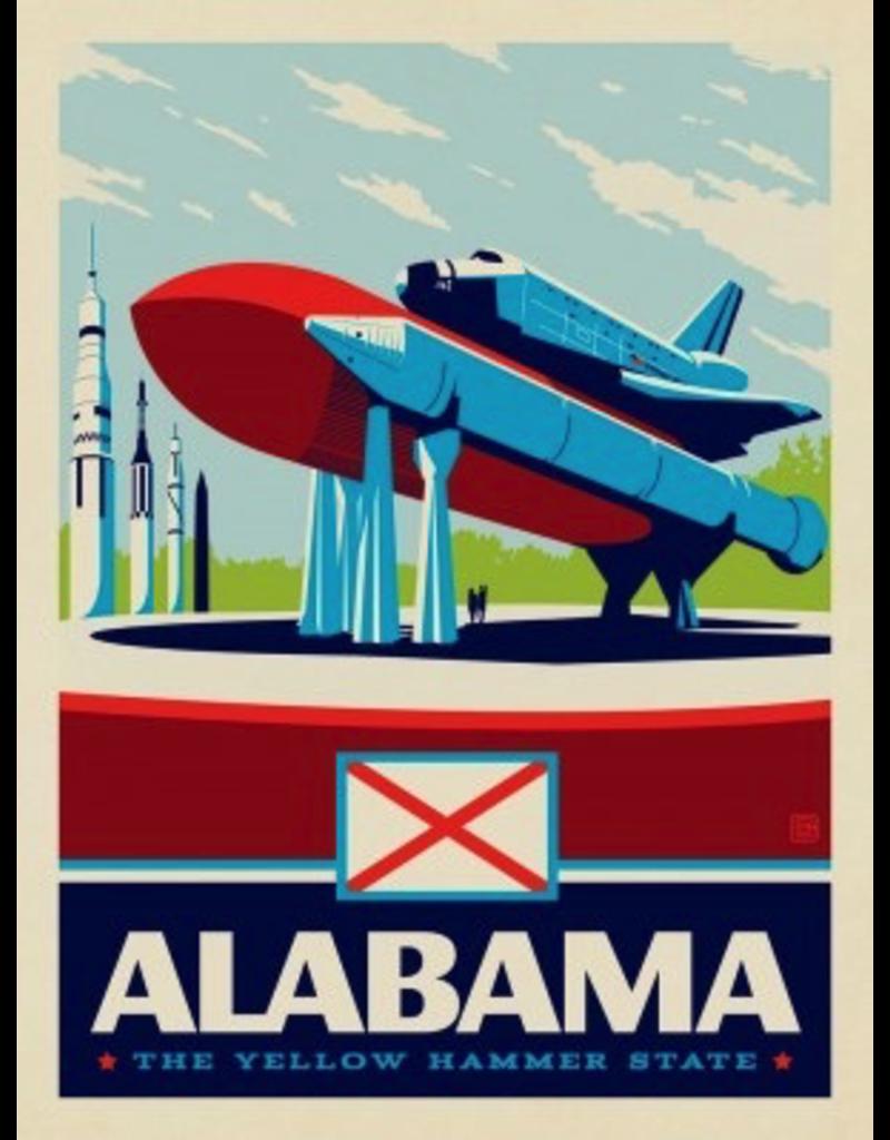 Posters Alabama State Pride 11x14 Print