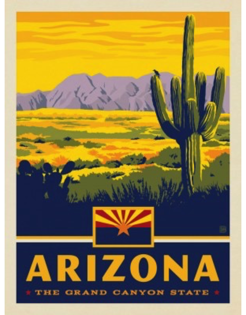 Posters Arizona State Pride 11x14 Print