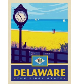 Posters Delaware State Pride 11x14 Print