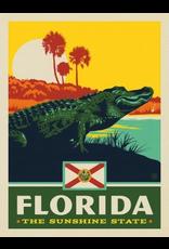 Posters Florida State Pride 11x14 Print
