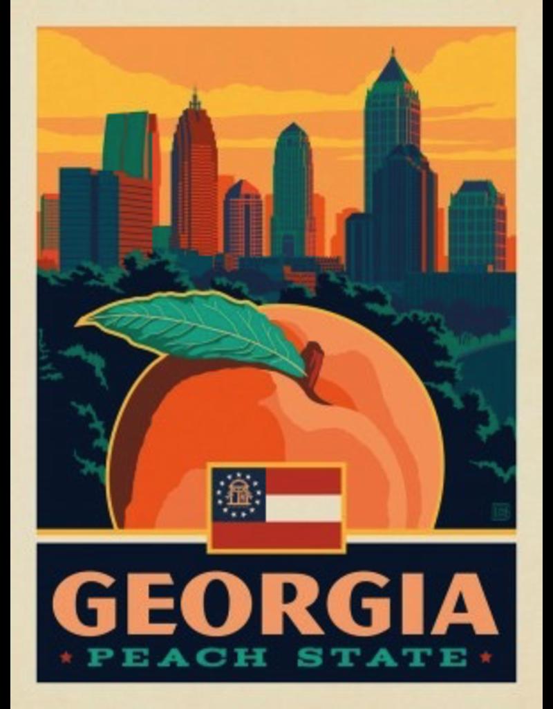 Posters Georgia State Pride 11x14 Print