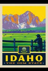 Posters Idaho State Pride 11x14 Print