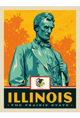 Posters Illinois State Pride 11x14 Print