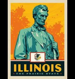 Posters Illinois State Pride 11x14 Print