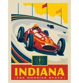 Posters Indiana State Pride 11x14 Print