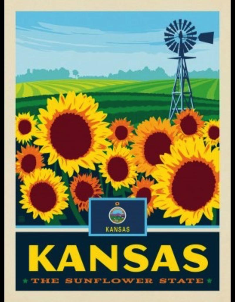 Posters Kansas State Pride 11x14 Print