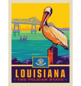 Posters Louisiana State Pride 11x14 Print