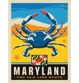 Posters Maryland State Pride 11x14 Print