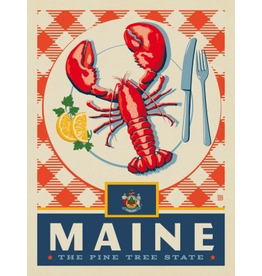 Posters Maine State Pride 11x14 Print