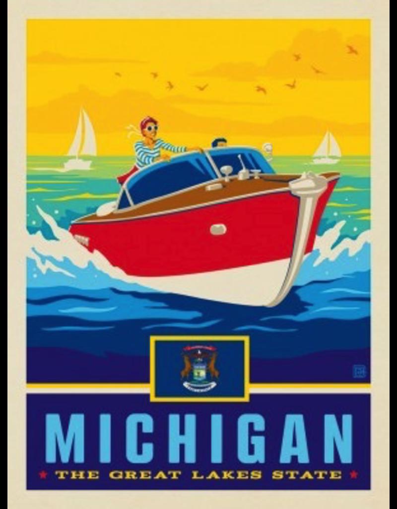Posters Michigan State Pride 11x14 Print