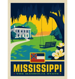 Posters Mississippi State Pride 11x14 Print