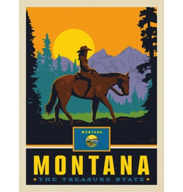 Posters Montana State Pride 11x14 Print