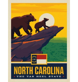 Posters North Carolina State Pride 11x14 Print
