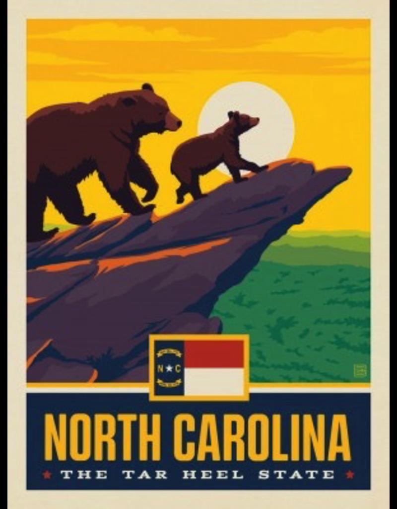 Posters North Carolina State Pride 11x14 Print