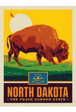 Posters North Dakota State Pride 11x14 Print
