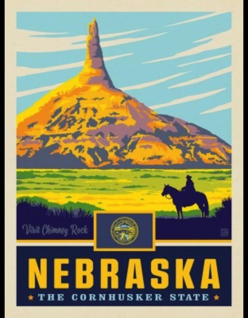Posters Nebraska State Pride 11x14 Print