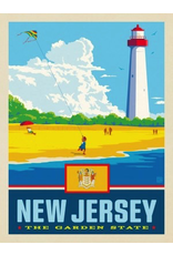 Posters New Jersey State Pride 11x14 Print