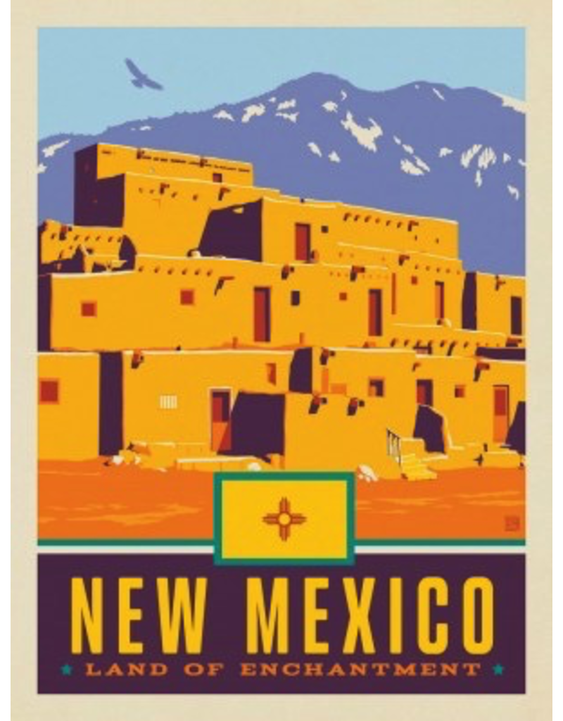 Posters New Mexico State Print 11x14 Print