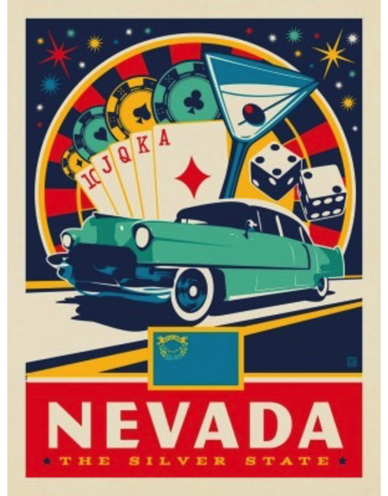 Posters Nevada State Pride 11x14 Print