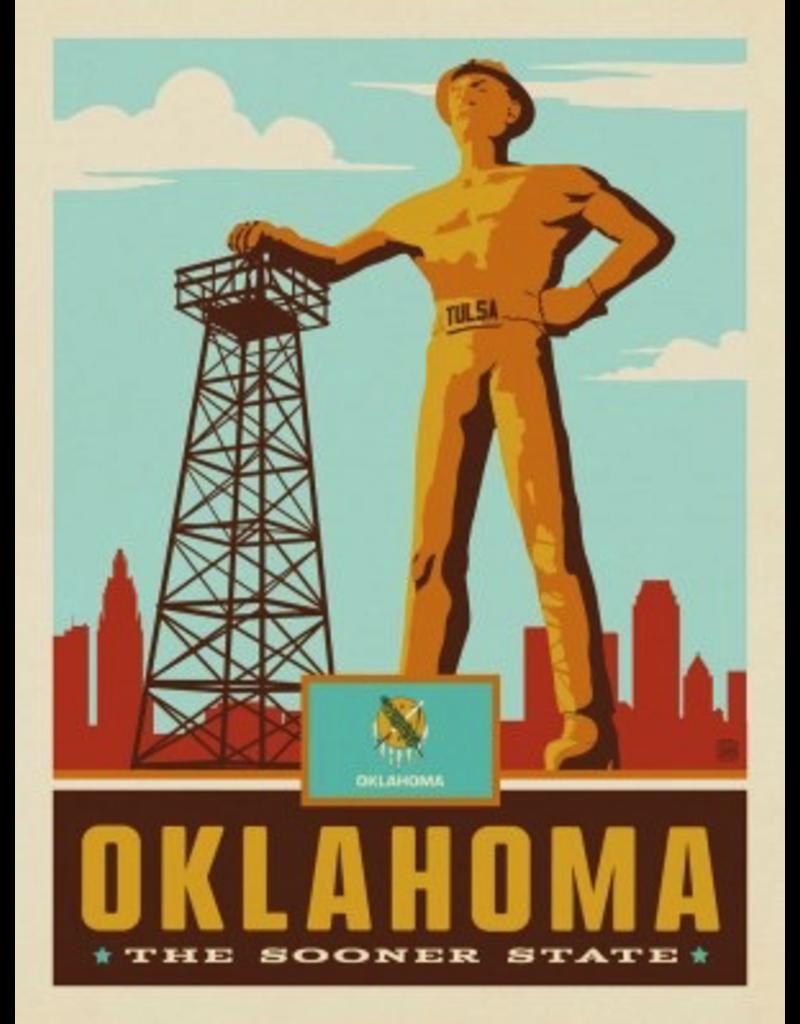 Posters Oklahoma State Pride 11x14 Print