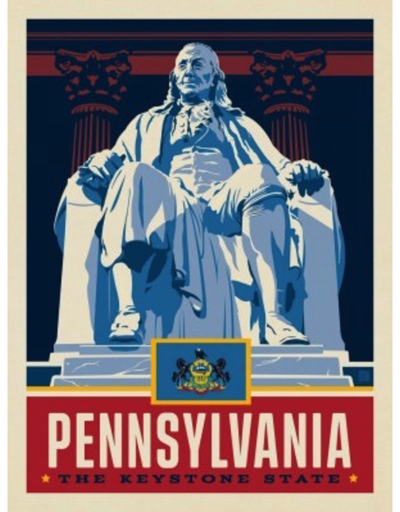 Posters Pennsylvania State Pride 11x14 Print