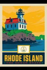 Posters Rhode Island State Pride 11x14 Print