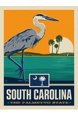 Posters South Carolina State Pride 11x14 Print