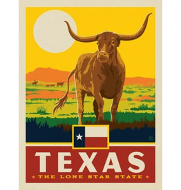 Posters Texas State Pride 11x14 Print