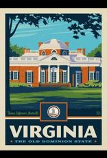 Posters Virginia State Pride 11x14 Print