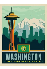 Posters Washington State Pride 11x14 Print