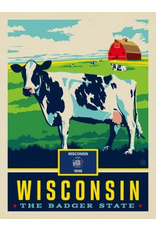 Posters Wisconsin State Pride 11x14 Print