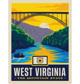 Posters West Virginia State Pride 11x14 Print