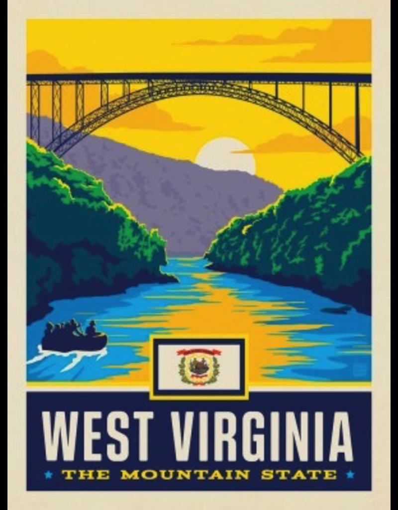 Posters West Virginia State Pride 11x14 Print